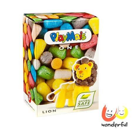 (購物車)《 Playmais 》 玩玉米創意黏土小巧盒 - 獅