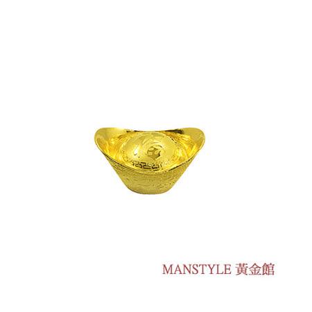 Manstyle 福字黃金元寶 (2錢)