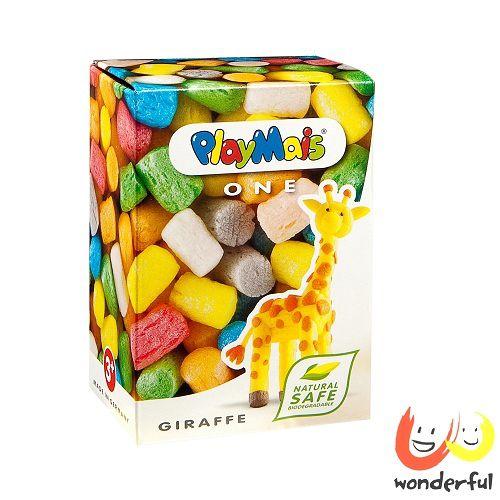 ^( 車^)~ Playmais ~玩玉米 黏土小巧盒 ~ 長頸鹿