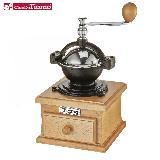 Tiamo 1309 鑄鐵型手搖磨豆機【鍍鉻款】原色 HG6148