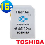 TOSHIBA FlashAir 16GB SDHC Class10 WiFi 記憶卡 -加送USB3.0讀卡機