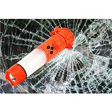 五合一汽車安全錘/逃生錘/車窗擊破器/安全帶割斷器/ LED警示燈/手電筒