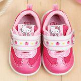 【童鞋城堡】Hello kitty小蘋果學步休閒鞋{台灣製造}713508