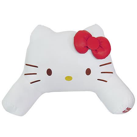 【享夢城堡】HELLO KITTY 經典皮革系列-護腰靠墊