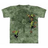 『摩達客』(預購)美國進口【The Mountain】自然純棉系列 和平樹蛙 設計T恤