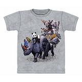 『摩達客』(預購)美國進口【The Mountain】自然純棉系列 動物遊行 設計T恤-童裝