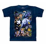 『摩達客』(預購)美國進口【The Mountain】自然純棉系列 動物歡聚 設計T恤-童裝