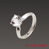 石頭記 精靈之舞-魅力白水晶戒指