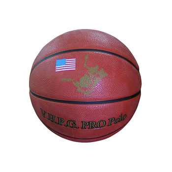 POLO高級仿皮籃球