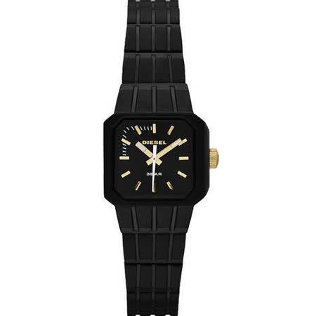【真心勸敗】gohappy線上購物DIESEL 龐克搖滾女孩時尚腕錶-IP黑 DZ5315效果太平洋 百貨 太平洋 sogo