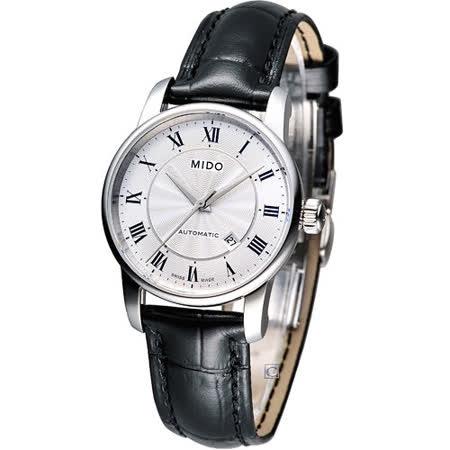 MIDO Baroncelli II 羅馬假期機械腕錶 M7600.4.21.4