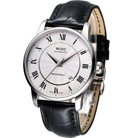 MIDO Baroncelli II 羅馬假期機械腕錶 M8600.4.21.4