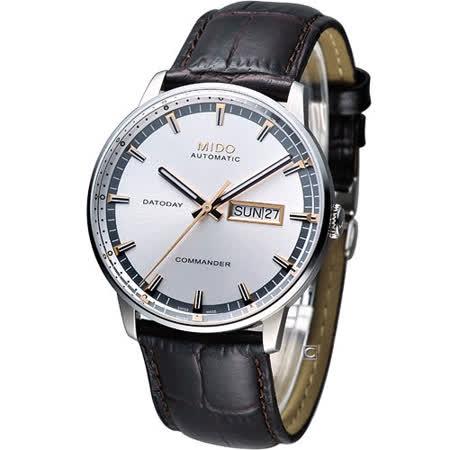 MIDO Commander 香榭系列機械腕錶 M0164301603112