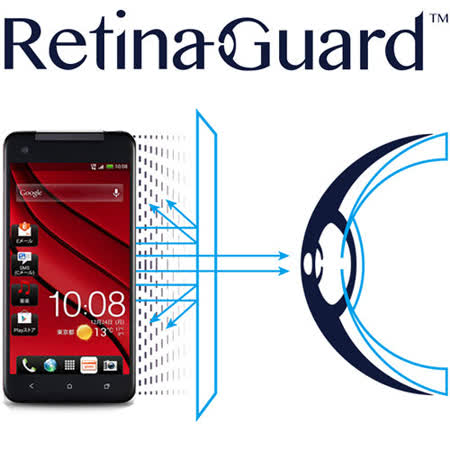 RetinaGuard 視網盾 HTC Butterfly S 眼睛防護 防藍光保護膜