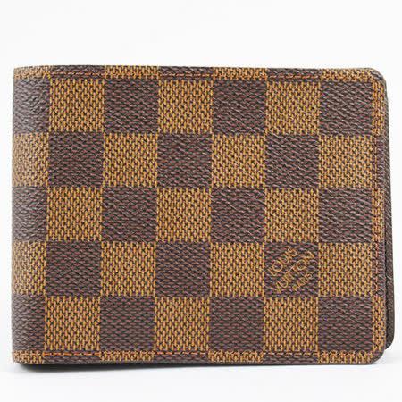Louis Vuitton N60895 Damier棋盤格紋折疊中短夾_現貨