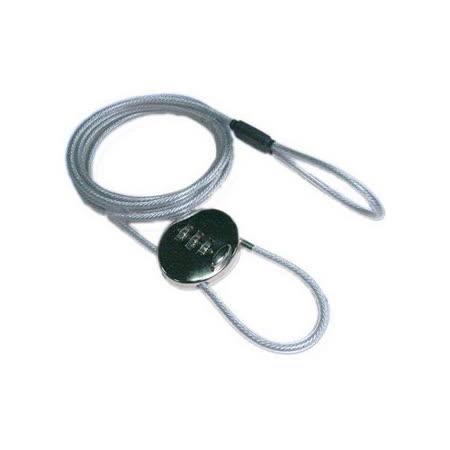 筆記型電腦鋼繩密碼鎖