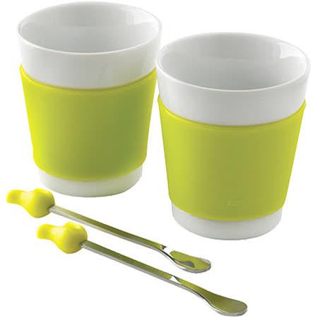 《XDDESIGN》小鳥攪拌匙瓷杯組(2入)