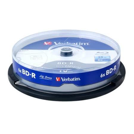 威寶 Life版 藍光 6X  BD-R  25GB 桶裝 (30片)
