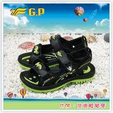 [GP]阿亮代言-快樂磁釦童兩用涼鞋(尺碼33-37)-G3625-60(綠色)共有三色