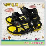 [GP]阿亮代言-廣告熱賣磁扣童涼鞋(尺碼26-34)-G3623B-33(黃色)共有四色