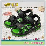 [GP]阿亮代言-廣告熱賣磁扣童涼鞋(尺碼26-34)-G3623B-60(綠色)共有四色