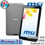 msi 微星 Primo 73 雙核7吋平板 加送電容觸控筆