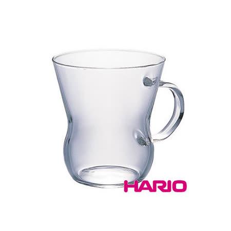 【HARIO】獨享清透玻璃杯300ml / HUT-8T