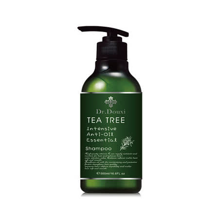 Dr.Douxi朵璽 茶樹瞬效控油洗髮精 500ml