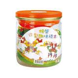 (購物車)【風車圖書】螃蟹圓形積木罐