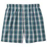 【GAP】2013男時尚石綠格紋平口內著2件組【預購】