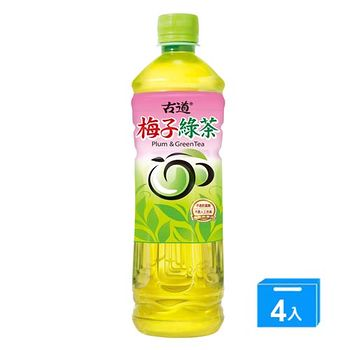 古道梅子綠茶600ml*4入