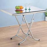 Homelike 不鏽鋼折合桌(2x3尺)