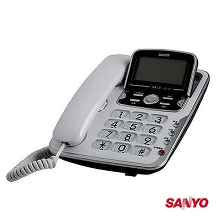 三洋 SANYO 來電顯示有線電話_ TEL-822