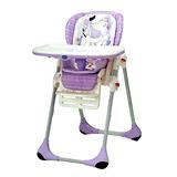 Chicco POLLY二合一高腳餐椅(夢想世界/紫)