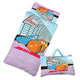 【閃電麥坤-CARS】賽車篇-幼教兒童睡袋(4*5尺-藍紫)