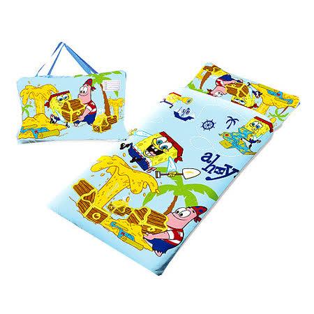 【海綿寶寶】幼教兒童睡袋-寶藏篇