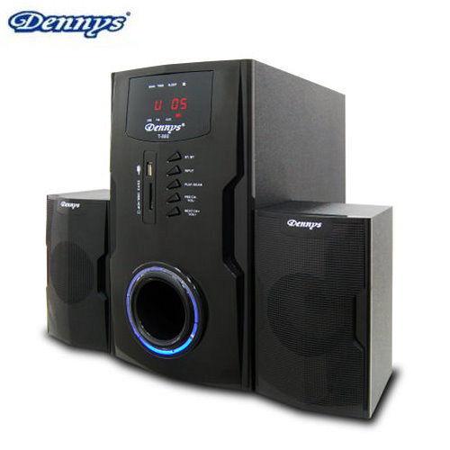 Dennys 2.1超重低音FM多媒體喇叭(T-880)