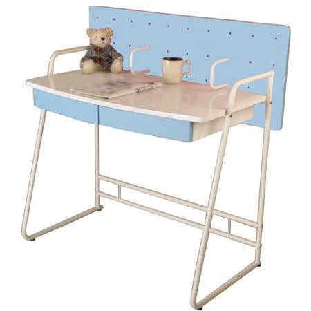威廉森兒童成長書桌(莫內藍)