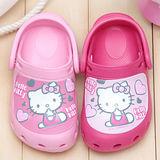 【童鞋城堡】Hello kitty超輕甜美風布希花園鞋{台灣製造}813570