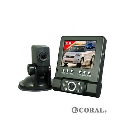 CORAL D行車記錄器 測速 推薦VR-211 分離式雙鏡頭 行車紀錄