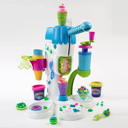 《Play-Doh 培樂多》霜淇淋機遊戲組