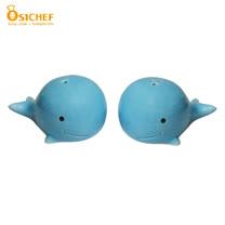 【歐喜廚】OSICHEF 動物胡椒鹽罐組-鯨魚