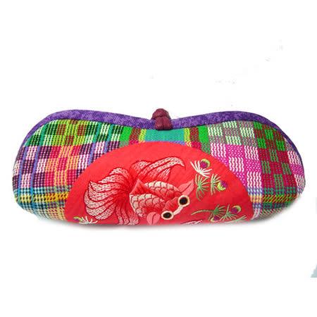 中國女紅坊 魯錦銀錠袋 / 雙魚( 紅 / 紫)