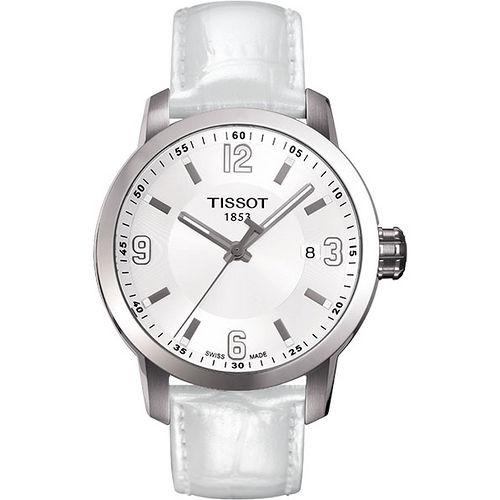 TISSOT PRC200 系列都會石英腕錶-白 T0554101601700