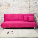 【AHOME】Juicy果漾玩美色感沙發床/椅(9色可選)