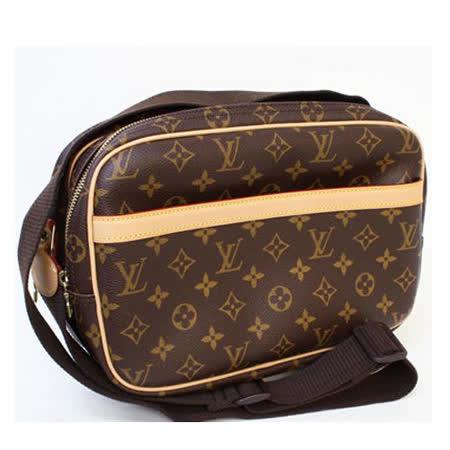 Louis Vuitton M45254 Reporter PM 經典花紋雙層斜背記者包_預購