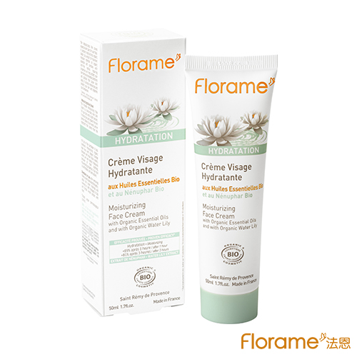 ~Florame法恩~睡蓮白皙保濕面霜50ml