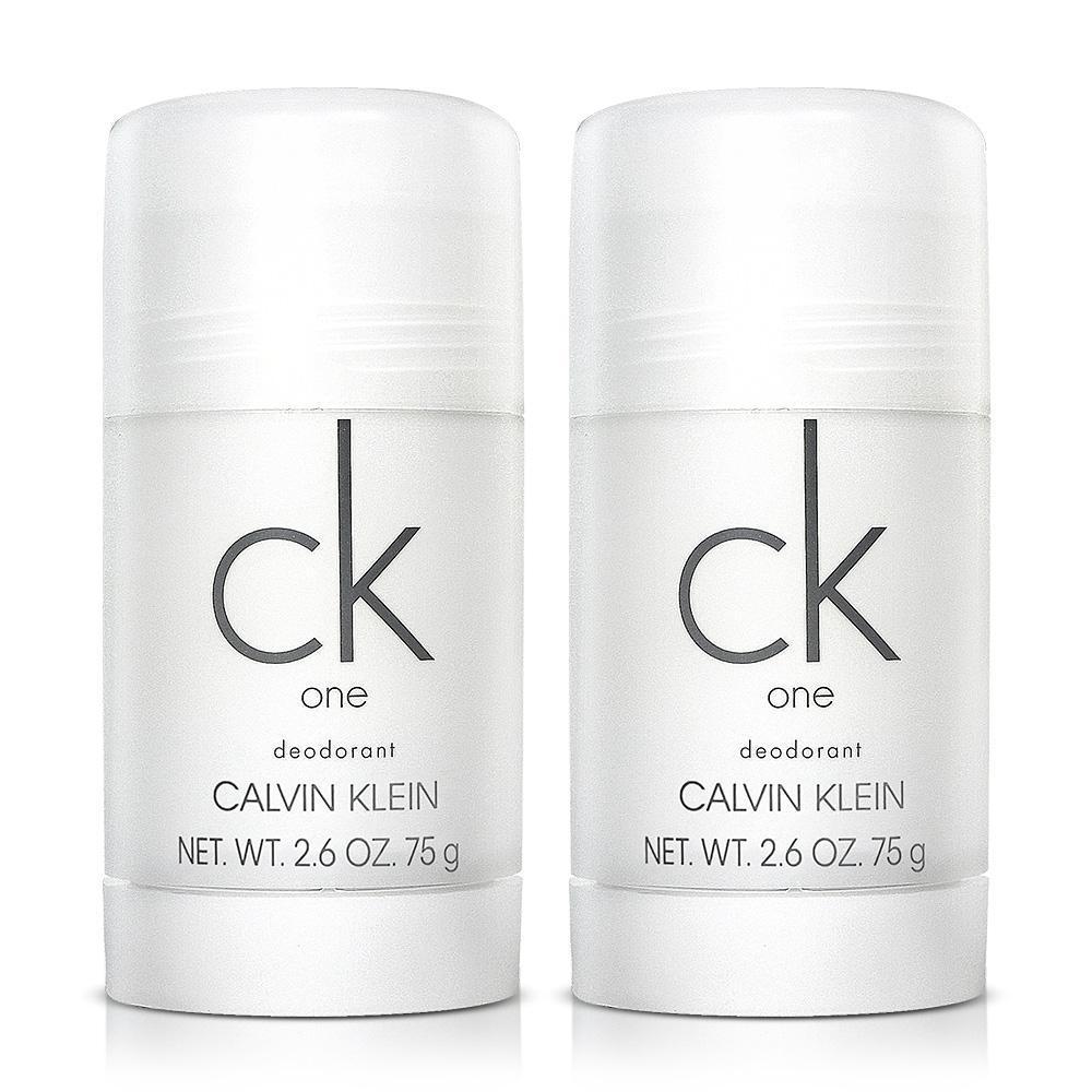 CK one 中性體香膏^(75g^)~白蓋