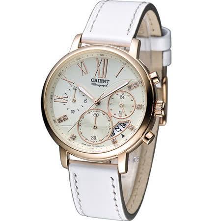 東方 ORIENT 晶彩時刻計時腕錶 FTW02003S