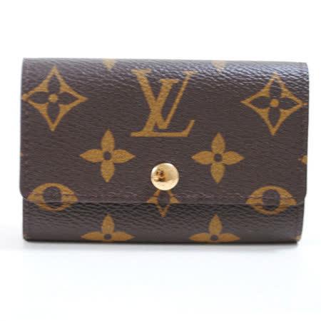 Louis Vuitton M62630 Monogram經典花紋6扣鑰匙包_預購
